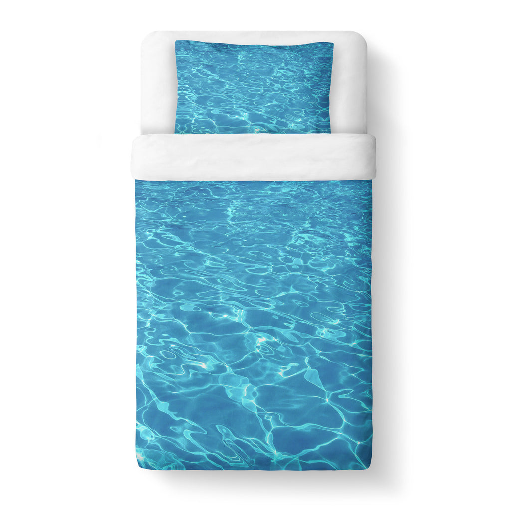 Water Duvet Cover-Gooten-Twin-| All-Over-Print Everywhere - Designed to Make You Smile