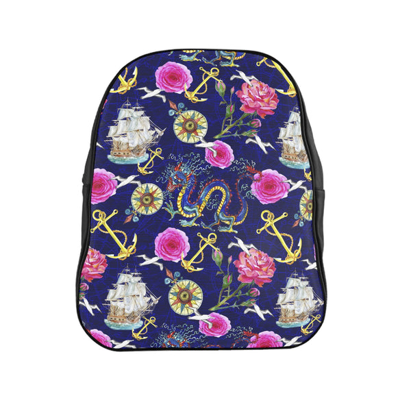At Sea Backpack-Printify-| All-Over-Print Everywhere - Designed to Make You Smile