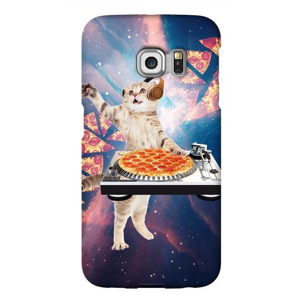 DJ Pizza Cat Smartphone Case-Gooten-Samsung Galaxy S6 Edge-| All-Over-Print Everywhere - Designed to Make You Smile