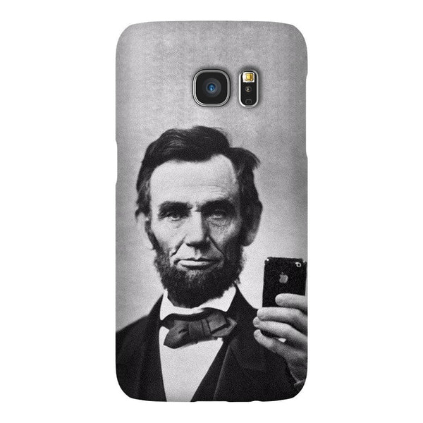 Abraham Lincoln Selfie Smartphone Case-Gooten-Samsung S7-| All-Over-Print Everywhere - Designed to Make You Smile
