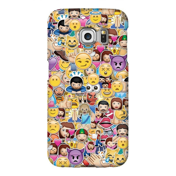 Emoji Invasion Smartphone Case-Gooten-Samsung Galaxy S6 Edge-| All-Over-Print Everywhere - Designed to Make You Smile