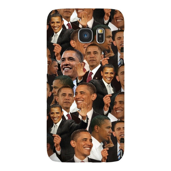 Barack Obama Face Smartphone Case-Gooten-Samsung S7-| All-Over-Print Everywhere - Designed to Make You Smile
