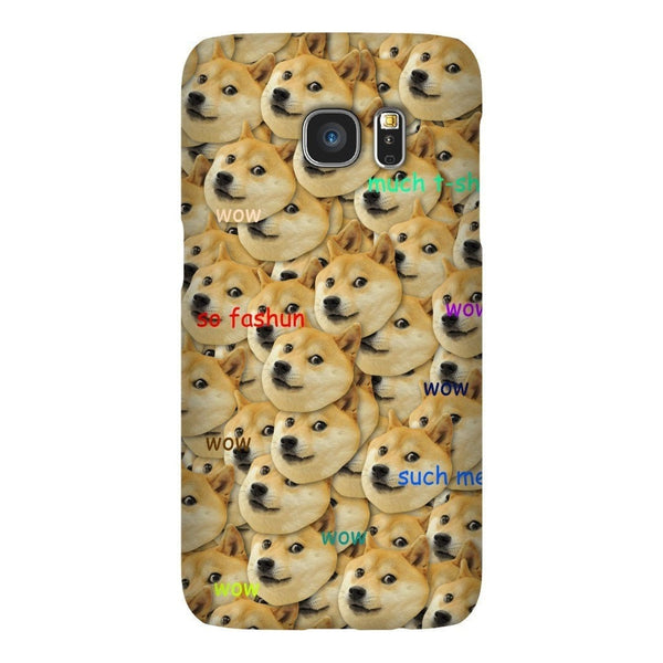"Doge ""Much Fashun"" Invasion Smartphone Case-Gooten-Samsung S7-
