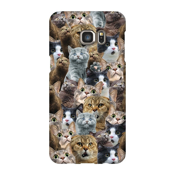Scaredy Cat Invasion Smartphone Case-Gooten-Samsung Galaxy S6 Edge Plus-| All-Over-Print Everywhere - Designed to Make You Smile