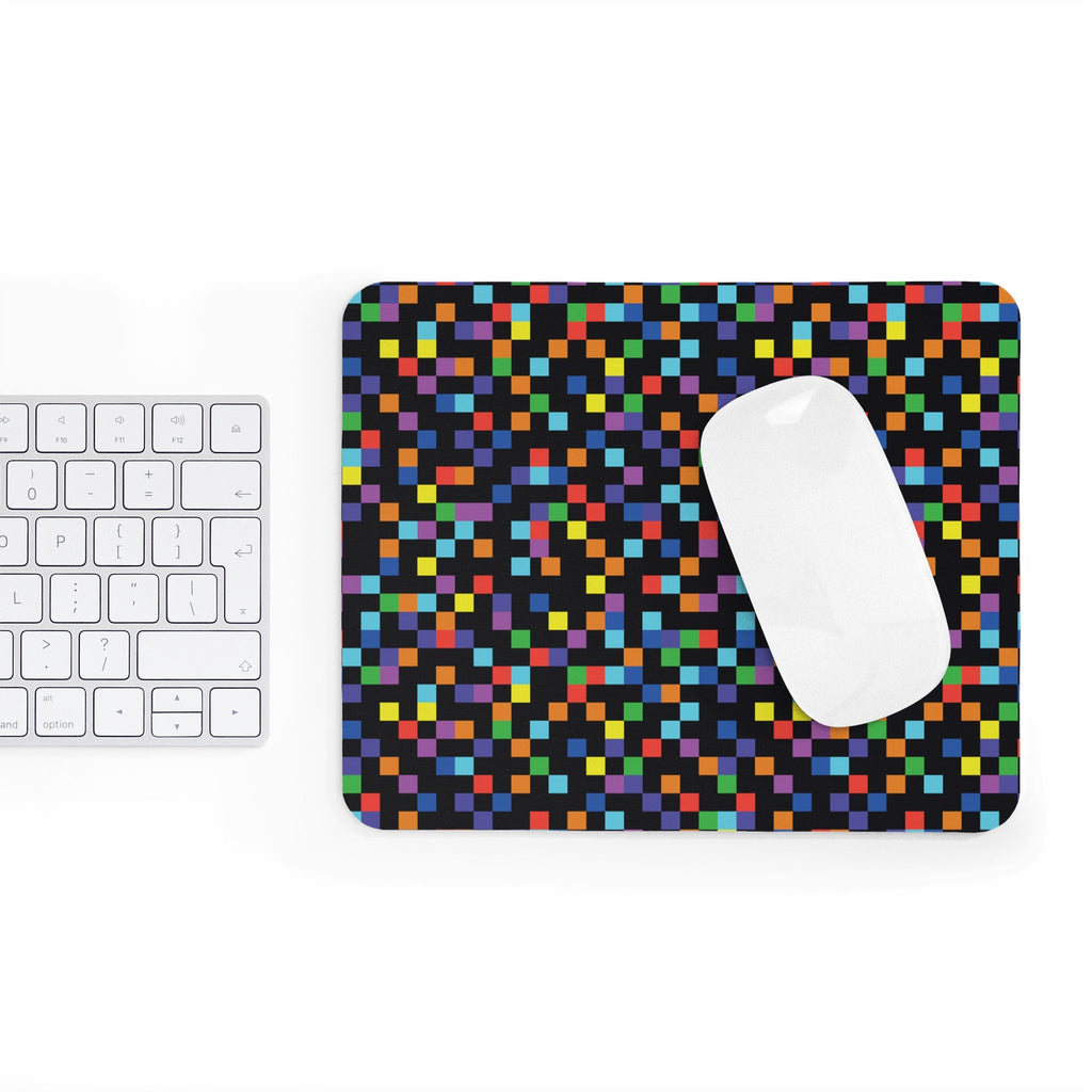 Pixel Mousepad-Printify-Rectangle-| All-Over-Print Everywhere - Designed to Make You Smile