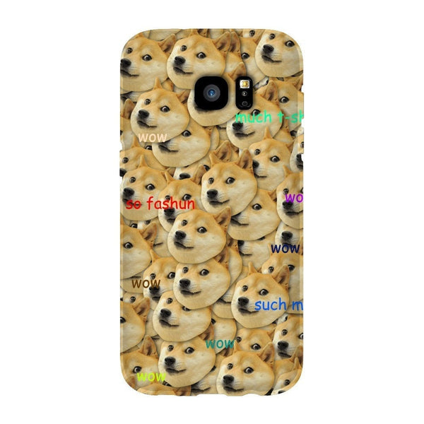 "Doge ""Much Fashun"" Invasion Smartphone Case-Gooten-Samsung S7 Edge-