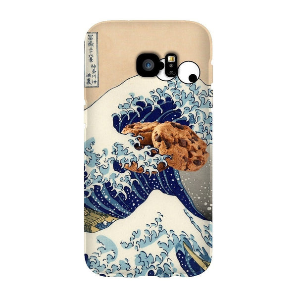 Great Wave of Cookie Monster Smartphone Case-Gooten-Samsung Galaxy S7 Edge-| All-Over-Print Everywhere - Designed to Make You Smile