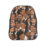 Barack Obama Face Backpack-Printify-| All-Over-Print Everywhere - Designed to Make You Smile