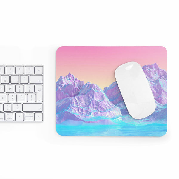 Pastel Mountains Mousepad-Printify-Rectangle-| All-Over-Print Everywhere - Designed to Make You Smile