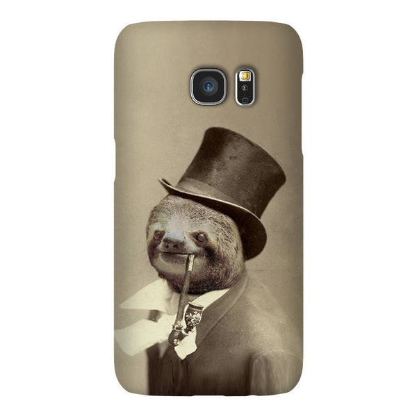 Old Money Flows Sloth Smartphone Case-Gooten-Samsung S7-| All-Over-Print Everywhere - Designed to Make You Smile