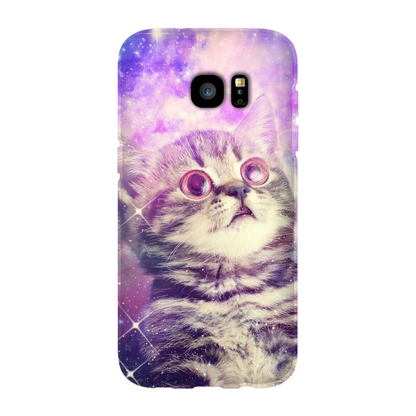 Trippin' Kitty Kat Smartphone Case-Gooten-Samsung Galaxy S7 Edge-| All-Over-Print Everywhere - Designed to Make You Smile