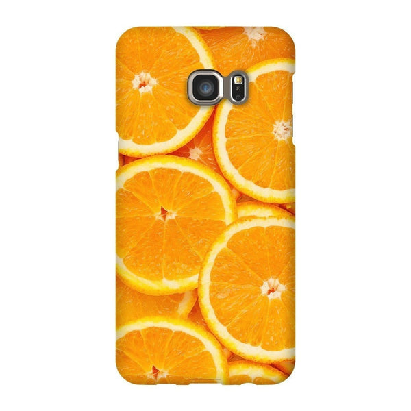 Oranges Invasion Smartphone Case-Gooten-Samsung S6 Edge Plus-| All-Over-Print Everywhere - Designed to Make You Smile