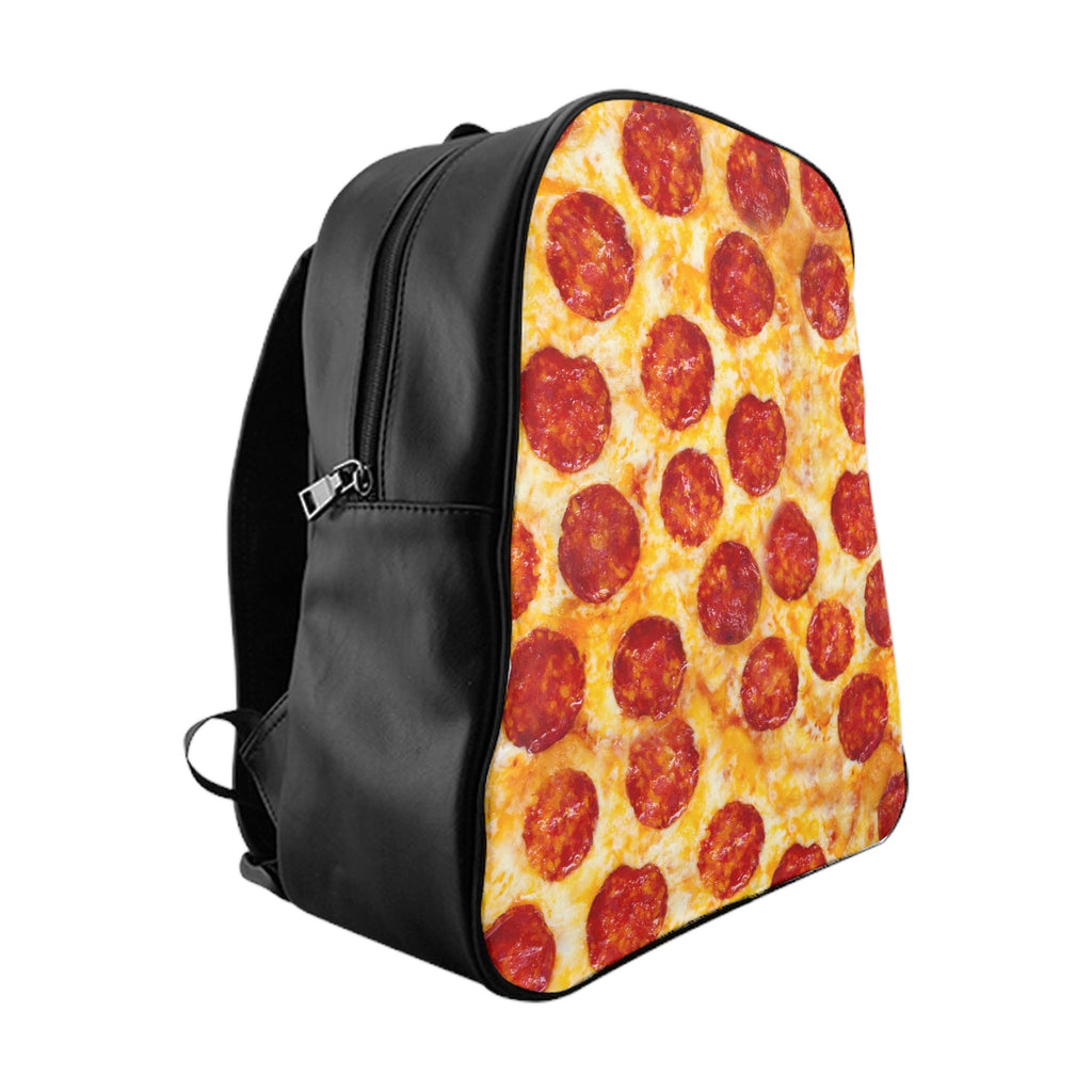 Pizza Invasion Backpack-Printify-Large-| All-Over-Print Everywhere - Designed to Make You Smile