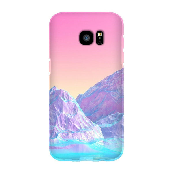Pastel Mountains Smartphone Case-Gooten-Samsung Galaxy S7 Edge-| All-Over-Print Everywhere - Designed to Make You Smile