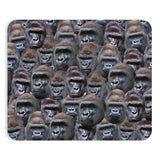 Gorilla Invasion Mousepad-Printify-Rectangle-| All-Over-Print Everywhere - Designed to Make You Smile