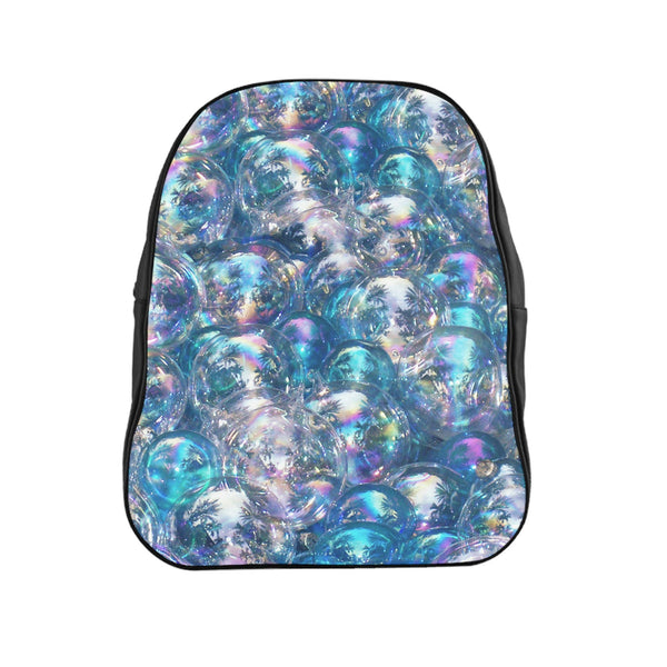 Bubbles Invasion Backpack-Printify-| All-Over-Print Everywhere - Designed to Make You Smile