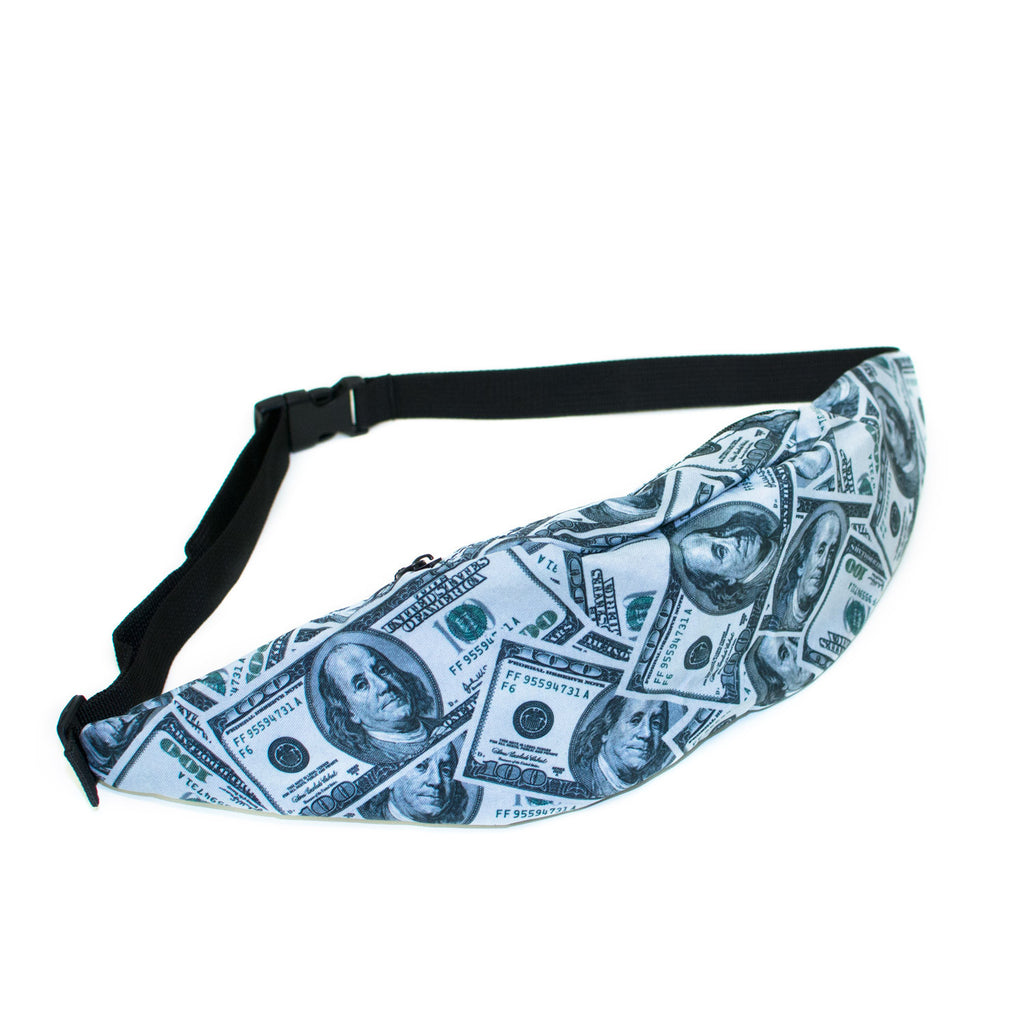 "Money ""Baller"" Invasion Fanny Pack-Shelfies-One Size-