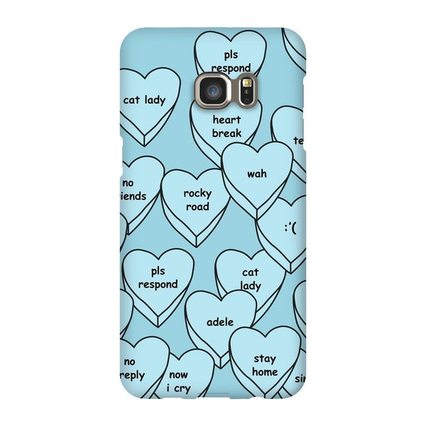 Blue Hearts Smartphone Case-Gooten-Samsung S6 Edge Plus-| All-Over-Print Everywhere - Designed to Make You Smile