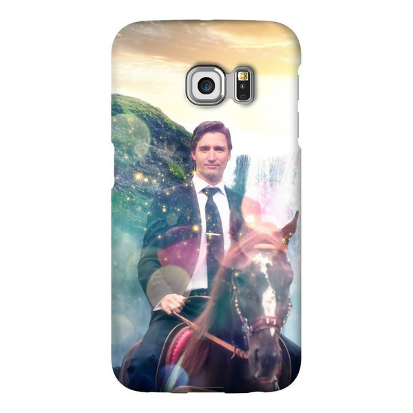 Dreamy Trudeau Smartphone Case-Gooten-Samsung Galaxy S6 Edge-| All-Over-Print Everywhere - Designed to Make You Smile