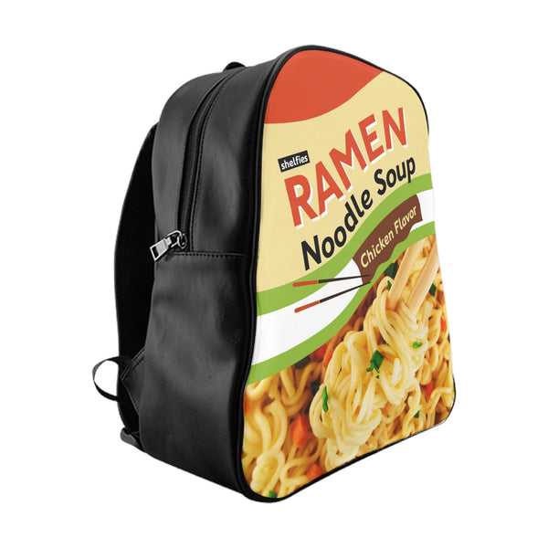 Ramen Noodle Pack Backpack-Printify-Large-| All-Over-Print Everywhere - Designed to Make You Smile