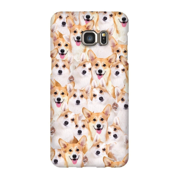 Corgi Invasion Smartphone Case-Gooten-Samsung S6 Edge Plus-| All-Over-Print Everywhere - Designed to Make You Smile