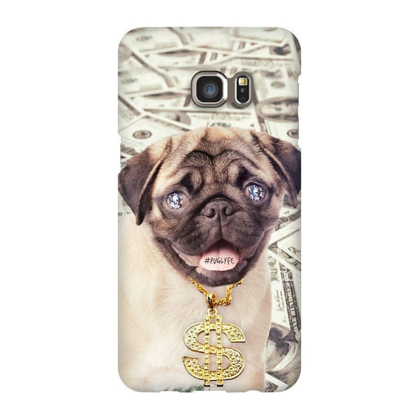 Thug Pug Smartphone Case-Gooten-Samsung S6 Edge Plus-| All-Over-Print Everywhere - Designed to Make You Smile