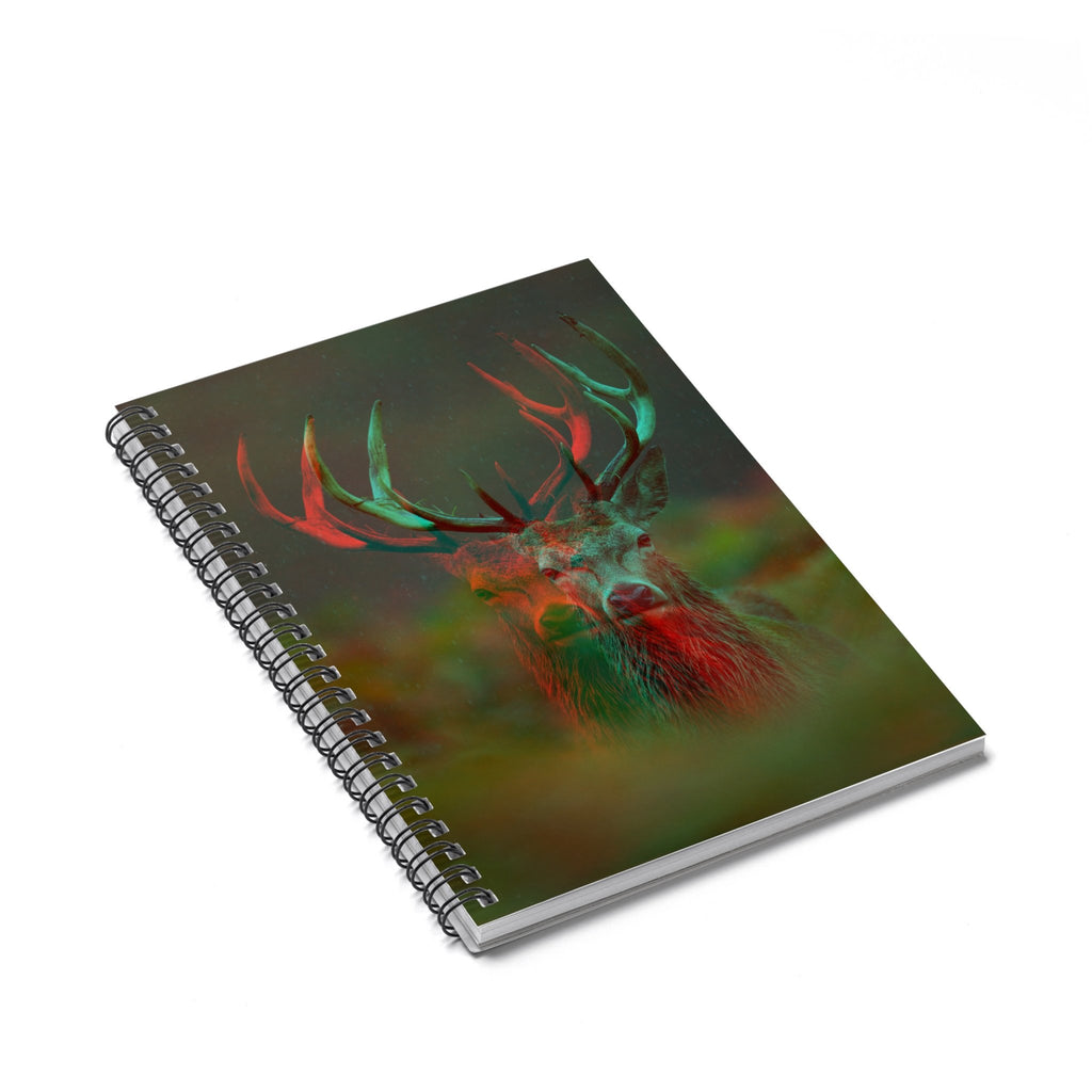 Deer Spiral Notebook-Printify-Spiral Notebook-| All-Over-Print Everywhere - Designed to Make You Smile