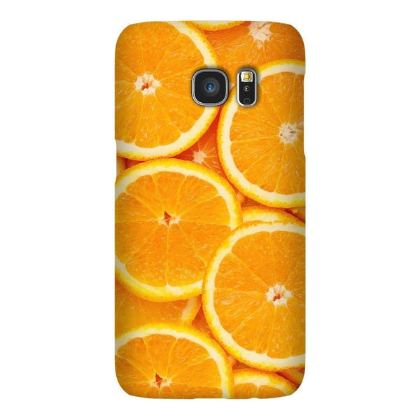 Oranges Invasion Smartphone Case-Gooten-Samsung S7-| All-Over-Print Everywhere - Designed to Make You Smile