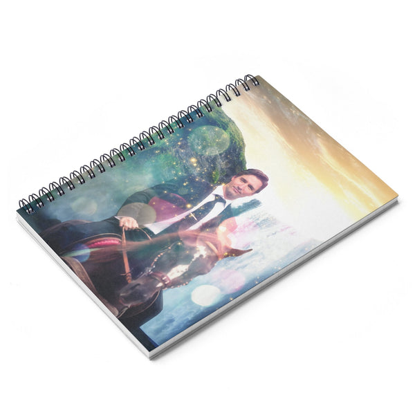 Dreamy Trudeau Spiral Notebook-Printify-| All-Over-Print Everywhere - Designed to Make You Smile