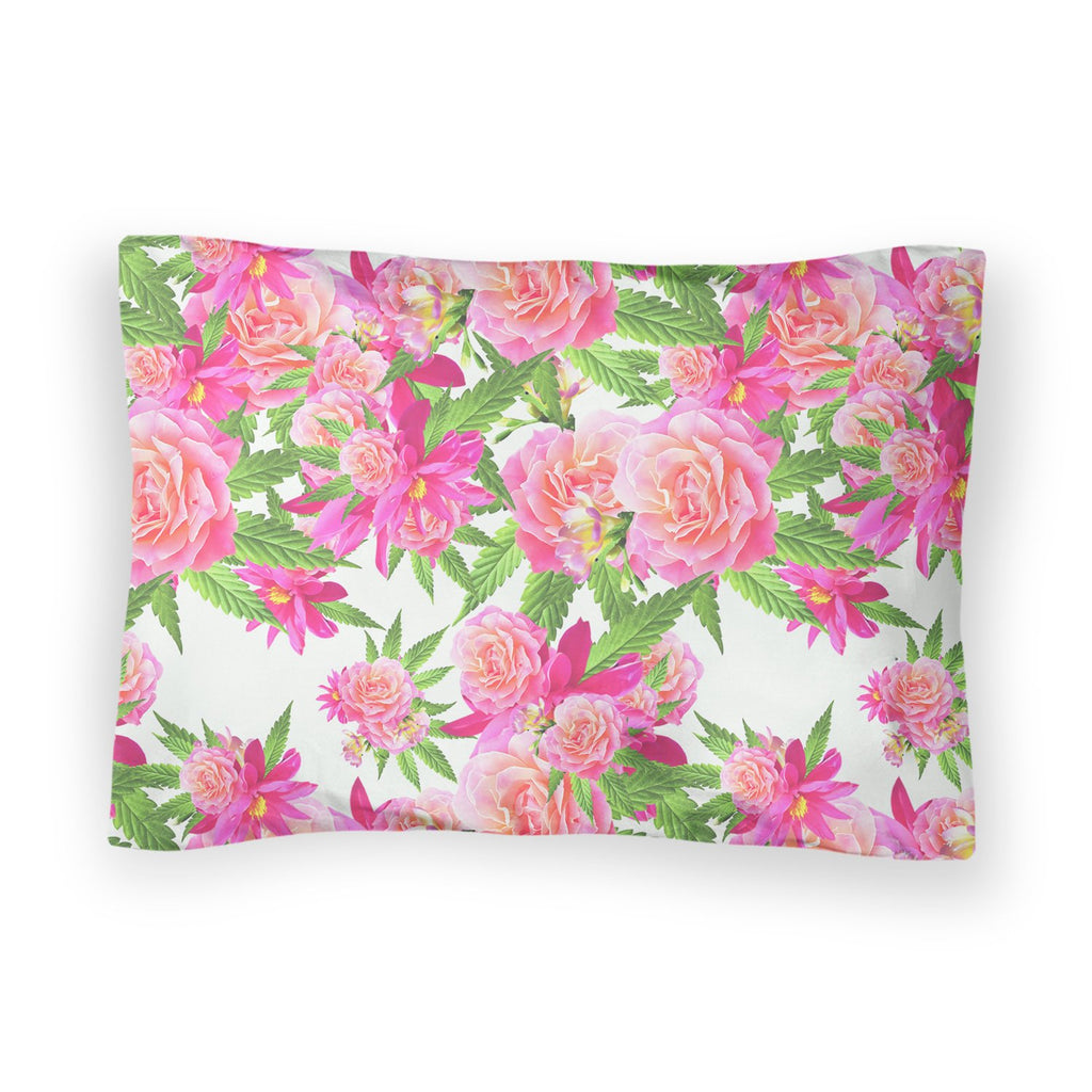 Kush Flowers Bed Pillow Case-Shelfies-| All-Over-Print Everywhere - Designed to Make You Smile