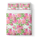Kush Flowers Duvet Cover-Gooten-Queen-| All-Over-Print Everywhere - Designed to Make You Smile