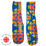 CBC Retro Foot Glove Socks-Printify-One Size-| All-Over-Print Everywhere - Designed to Make You Smile