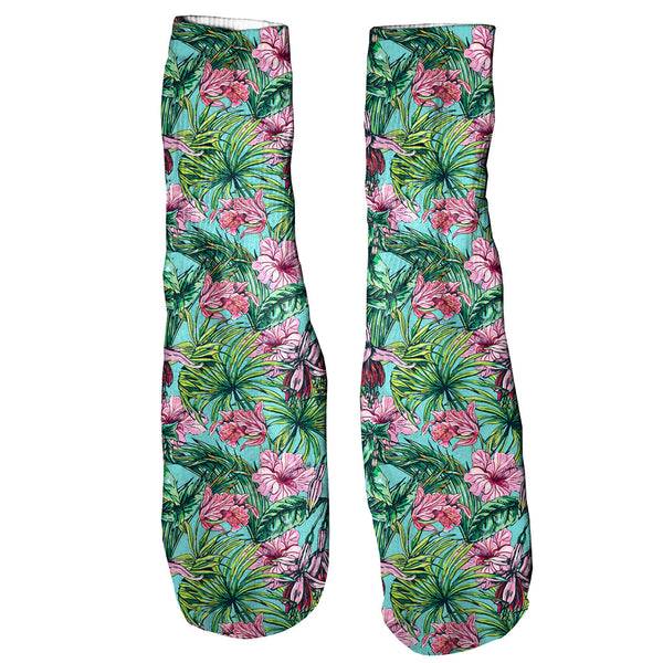 Foot Glove Socks - Floral Foot Glove Socks