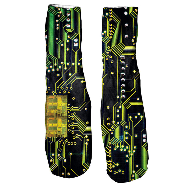 Microchip Foot Glove Socks-Shelfies-One Size-| All-Over-Print Everywhere - Designed to Make You Smile