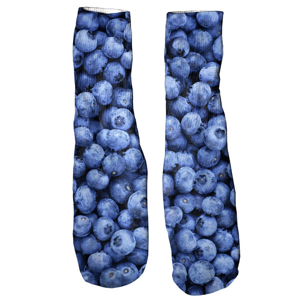 Blueberry Invasion Foot Glove Socks-Shelfies-One Size-| All-Over-Print Everywhere - Designed to Make You Smile