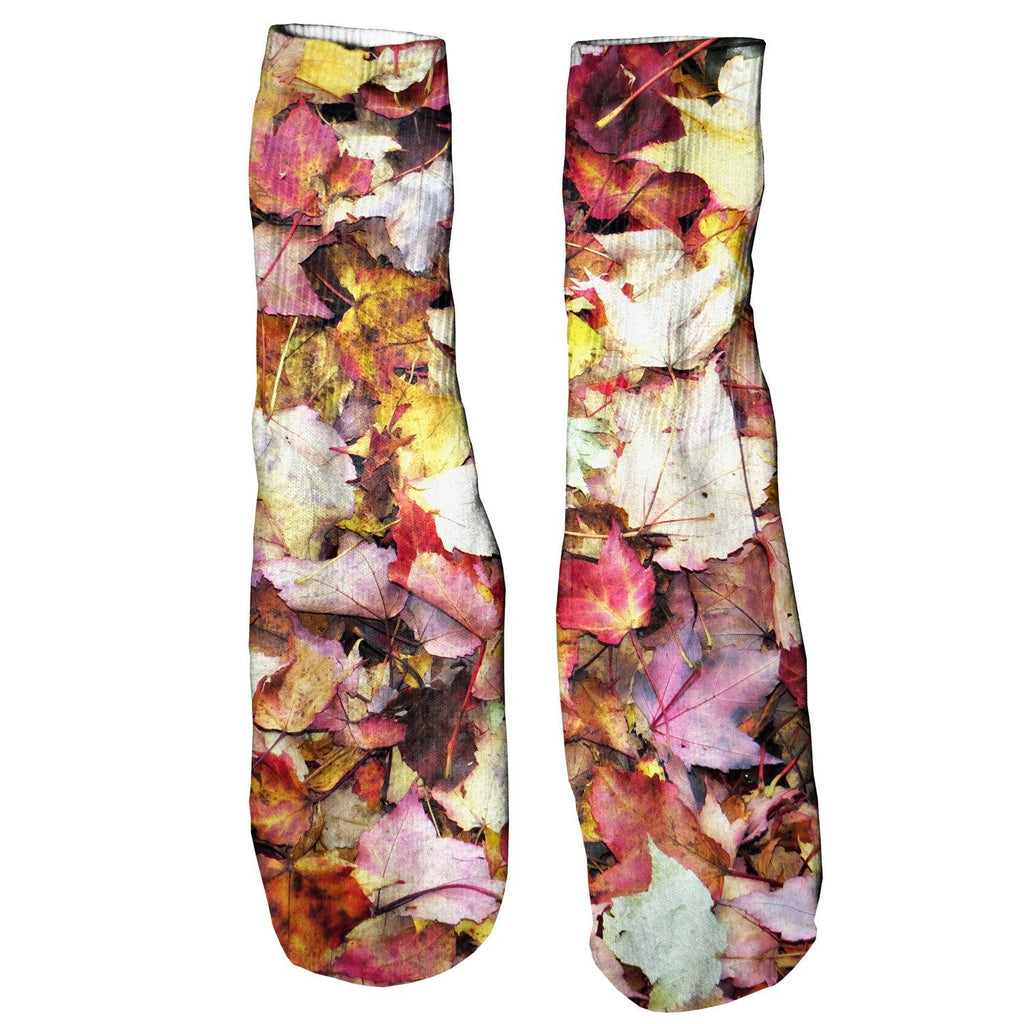 Fall Leaves Foot Glove Socks - Shelfies | All-Over-Print Everywhere - Designed to Make You Smile