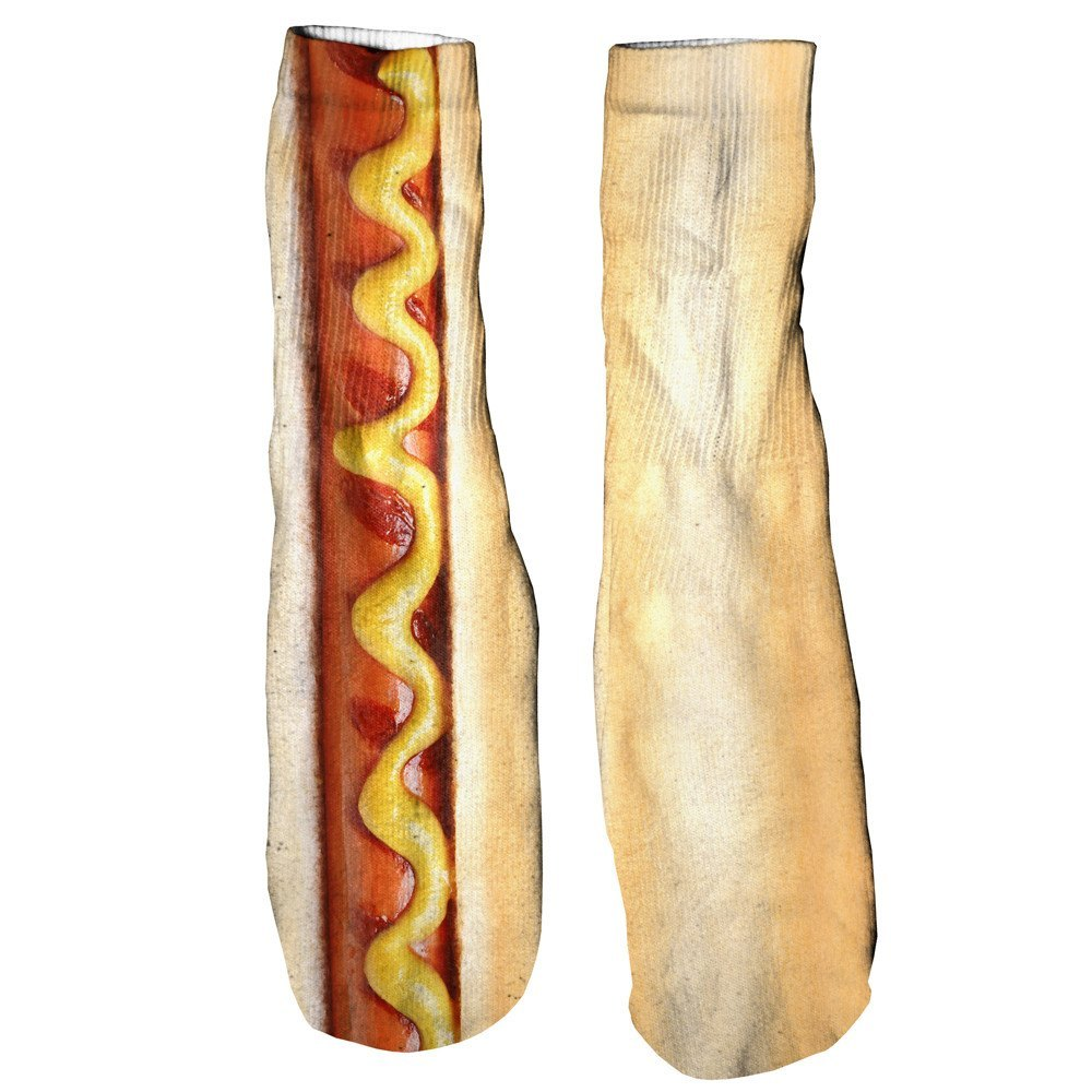Hot Dog Foot Glove Socks-Shelfies-One Size-| All-Over-Print Everywhere - Designed to Make You Smile