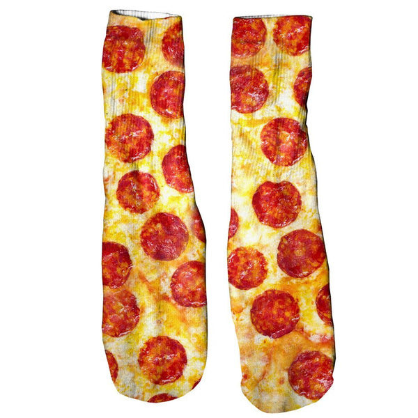 Pizza Invasion Foot Glove Socks - Shelfies | All-Over-Print Everywhere - Designed to Make You Smile