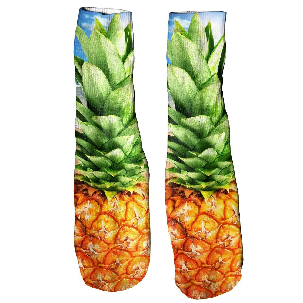 Pineapple Foot Glove Socks-Printify-One Size-| All-Over-Print Everywhere - Designed to Make You Smile