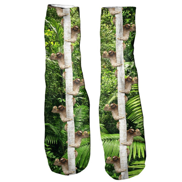 Wuddup Sloth Foot Glove Socks-Shelfies-One Size-| All-Over-Print Everywhere - Designed to Make You Smile