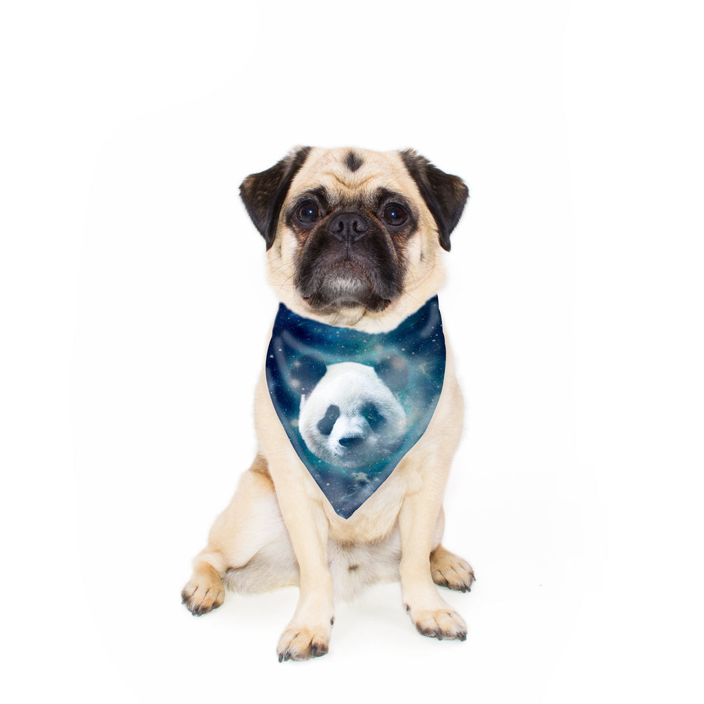 Galaxy Panda Pet Bandana-Gooten-24x24 inch-| All-Over-Print Everywhere - Designed to Make You Smile