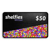 Shelfies Giftcard-Shelfies-$50.00-| All-Over-Print Everywhere - Designed to Make You Smile
