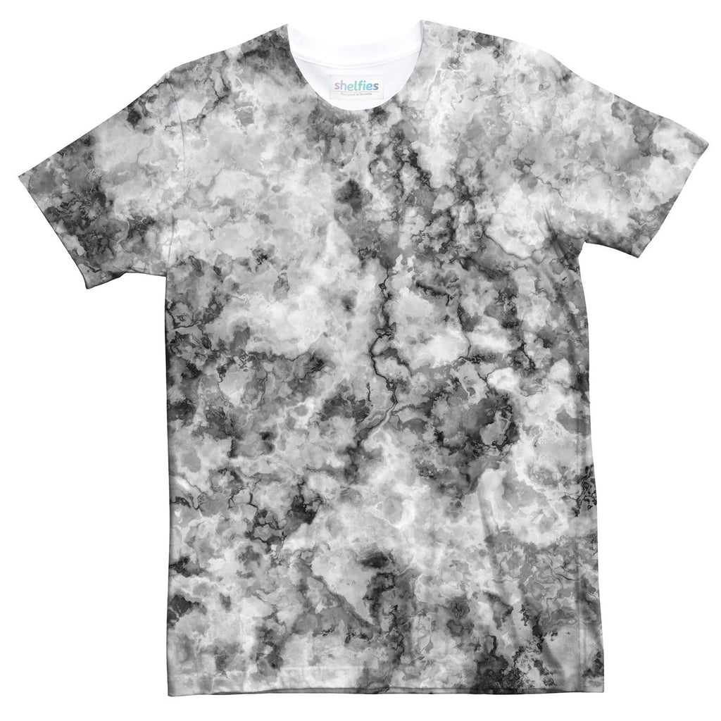 Grey Stoned T-Shirt-Shelfies-| All-Over-Print Everywhere - Designed to Make You Smile