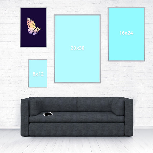 Heavenly Poster-Shelfies-12 x 18-| All-Over-Print Everywhere - Designed to Make You Smile