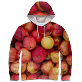 Apple Invasion Hoodie-Shelfies-| All-Over-Print Everywhere - Designed to Make You Smile