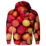 Apple Invasion Hoodie - Shelfies | All-Over-Print Everywhere - Designed to Make You Smile