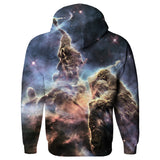 Carina Nebula Hoodie-Shelfies-| All-Over-Print Everywhere - Designed to Make You Smile