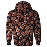 Coffee Invasion Hoodie-Subliminator-| All-Over-Print Everywhere - Designed to Make You Smile