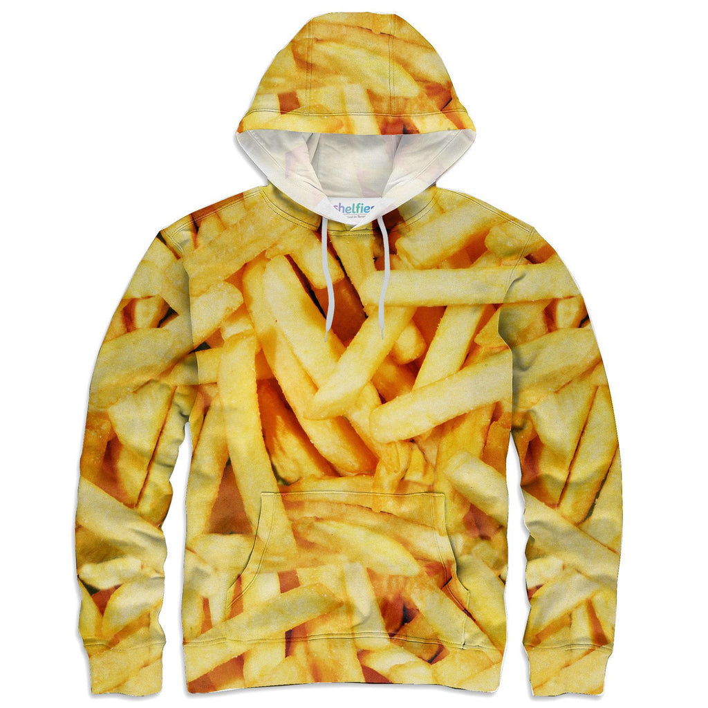 French Fries Invasion Hoodie-Subliminator-| All-Over-Print Everywhere - Designed to Make You Smile