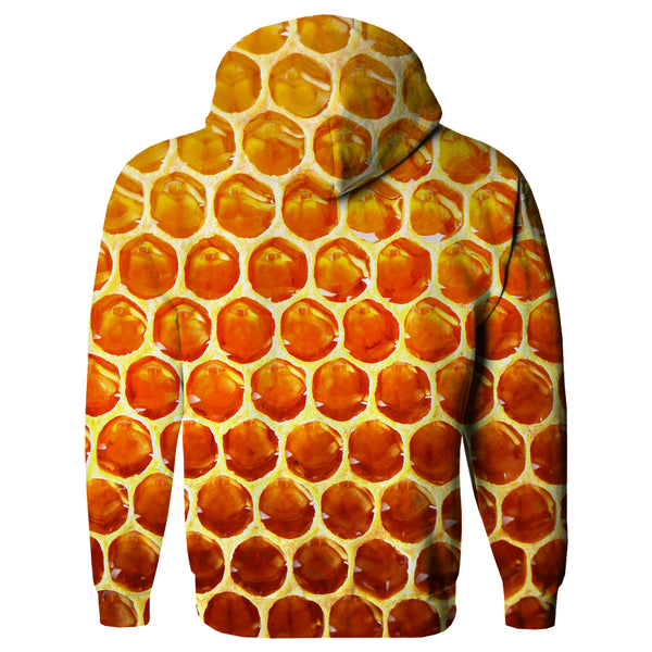 Honeycomb Hoodie-Shelfies-| All-Over-Print Everywhere - Designed to Make You Smile